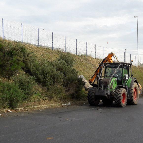 Tracteur épareuse